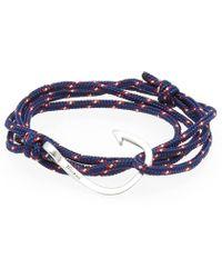 Miansai - Silver Hook Rope Bracelet - Lyst