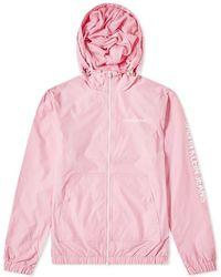 Calvin Klein - Nylon Zip-up Jacket - Lyst