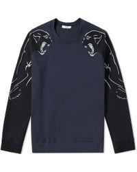 Valentino - Panther Souvenir Crew Sweat - Lyst