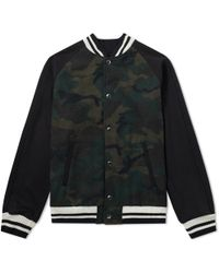 Sophnet - Wool Stadium Jacket - Lyst