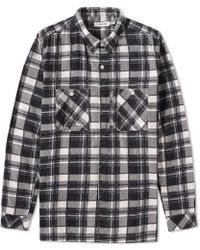 Nonnative - Flannel Adventurer Shirt - Lyst