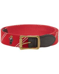 Polo Ralph Lauren | Bear Motif Icon Belt | Lyst