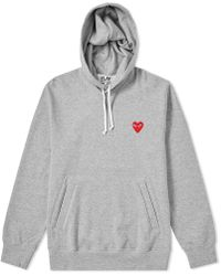 Play Comme des Garçons - Comme Des Garcons Play Pullover Hoody - Lyst