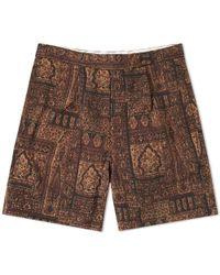 Beams Plus - Batik Print Short - Lyst