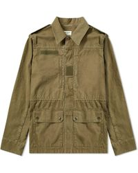 Saint Laurent - Classic Military Jacket - Lyst