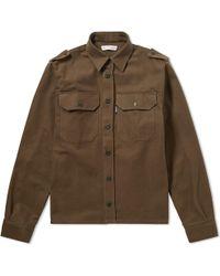 Gosha Rubchinskiy - Heavy Cotton Army Shirt - Lyst