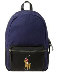 Polo Ralph Lauren - Polo Player Canvas Backpack - Lyst