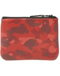 A Bathing Ape - Colour Camo Wallet - Lyst