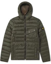 Barbour - International Ouston Hooded Quilt Jacket - Lyst