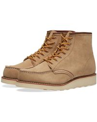 """Red Wing - Women's 3376 Heritage 6"""" Moc Toe Boot - Lyst"""
