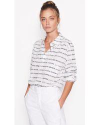 Equipment - Kenton Silk Shirt - Lyst