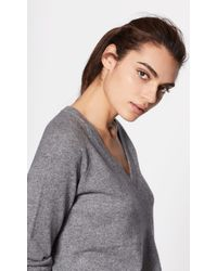 Equipment - Asher Cashmere V-neck - Lyst