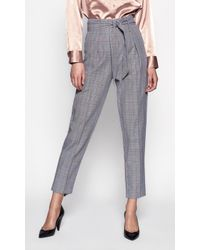 2baba2670f13 Tiger Mist Marcelle Plaid Pants in Brown - Lyst