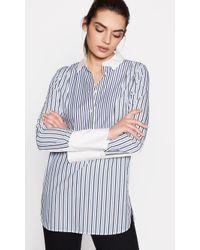 Equipment - Tuxedo Arlette Shirt - Lyst