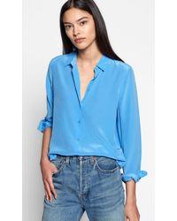 Equipment - Essential Silk Shirt - Lyst