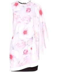 Ted Baker - Agostia Chelsea Double Layered Dress - Lyst