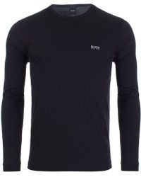 BOSS Athleisure - Togn Long Sleeved T-shirt - Lyst