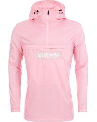 Napapijri | Aumo Jacket In Pink | Lyst