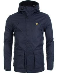 Lyle & Scott - Fleece Lined Jacket - Lyst