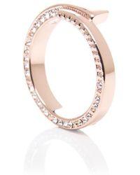 Karen Millen - Art Glass Ring - Lyst