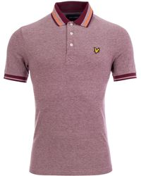 Lyle & Scott - Oxford Tipped Polo - Lyst