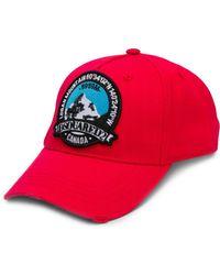 66bd79f25b179b DSquared² Dsq Patch Baseball Cap in Black for Men - Lyst