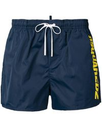 DSquared² - Side Logo Swimming Shorts - Lyst