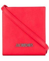 Jacquemus - Logo Plaque Bag - Lyst
