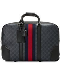 Gucci Soft GG Supreme Carry-on Duffle With Wheels