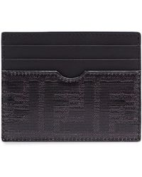 Fendi - Logo Leather Cardholder - Lyst