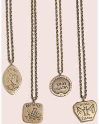 Erica Weiner | Intaglio Necklaces (brass) | Lyst