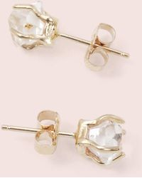 Erica Weiner - Herkimer Diamond Earrings - Lyst