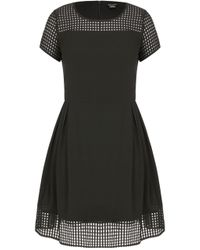 City Chic - Sweet Texture Dress - Lyst