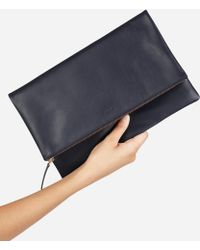 Everlane - The Foldover Pouch - Lyst