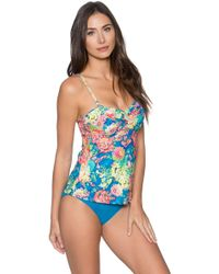 Sunsets | Underwire Bandeau Tankini Top (d+ Cup) | Lyst