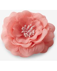 Express - Light Pink Flower Hair Clip And Pin - Lyst