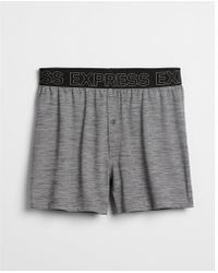 Express - Performance Mesh Boxers - Lyst