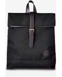 Express - Enter Accessories Black Fold Top Backpack - Lyst