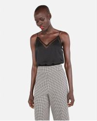 Express - Mesh Downtown Cami - Lyst