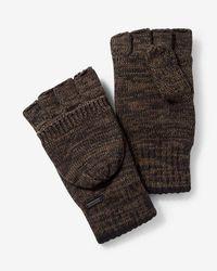 Express - Cotton Flip Top Gloves - Lyst