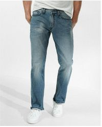 Express | Classic Boot Thick Stitch Stretch Jeans | Lyst