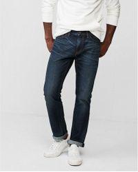 Express - Slim Medium Wash 100% Cotton Jeans, Men's Size:w28 L28 - Lyst