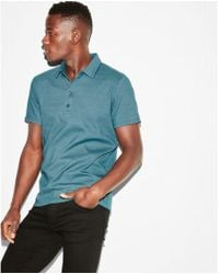 Express - Moisture-wicking Stretch+ Polo - Lyst