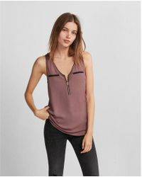 Express - Piped Hudson Tank - Lyst