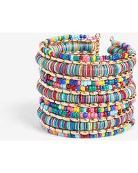 Express Beaded Sequin Cuff Bracelet