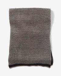 Express - Textured Stripe Scarf - Lyst