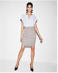 Express - High Waisted Clean Pencil Skirt - Lyst