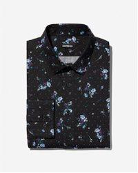 Express - Slim Floral Dress Shirt - Lyst