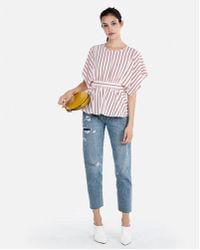 Express - D Kimono Sleeve Blouse - Lyst