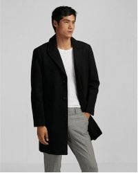 Express - Recycled Wool Topcoat - Lyst